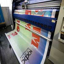 наружная печать на бумаге