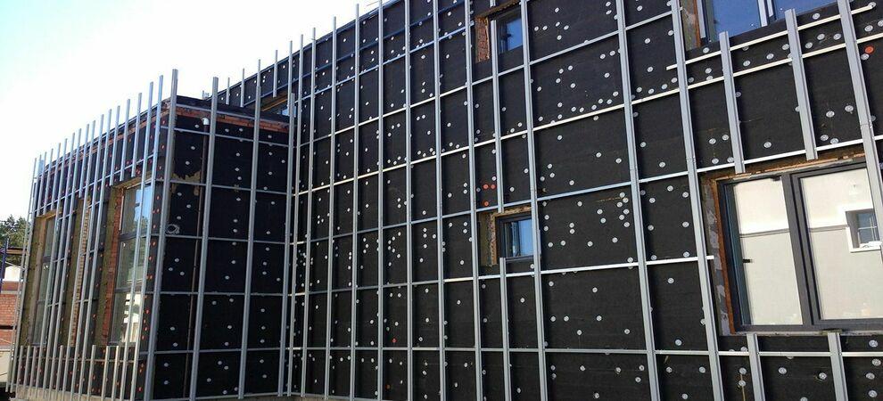 вентилируемый фасад керамогранит