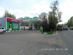 Облицовка АЗС в Воронеже Башнефть