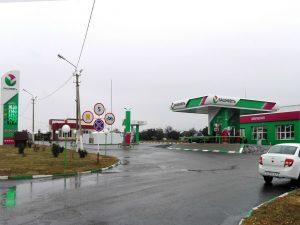 Ребрендинг АЗС Башнефть в Воронеже