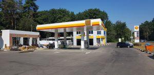 АЗС Shell реконструкция