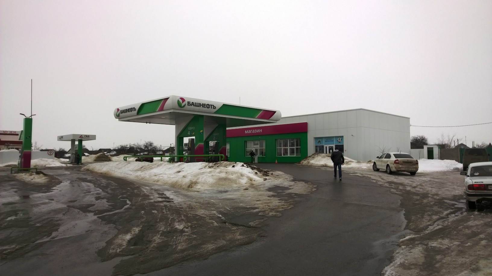 АЗС ребрендинг в Воронеже