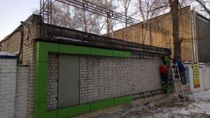 Вентилируемый фасад в Воронеже